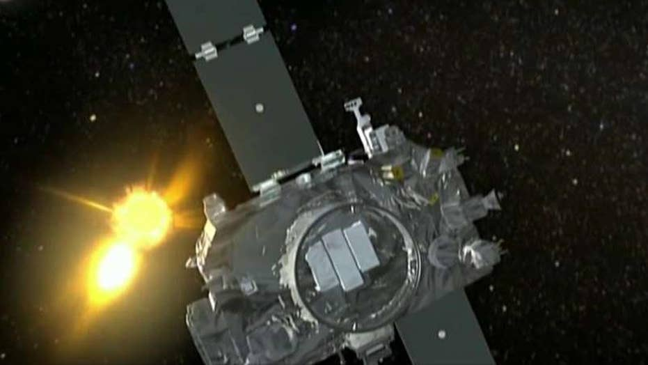 NASA finds satellite lost in space for two years