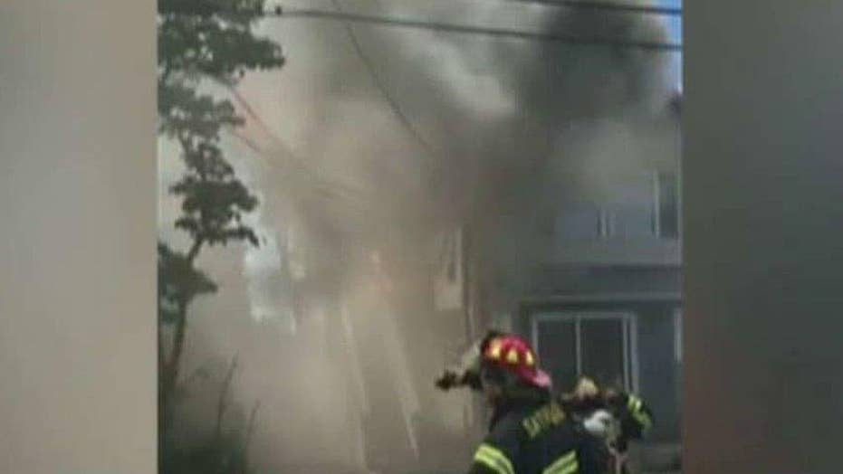 NJ police officer saves children from fire