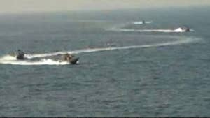 Iran's Islamic Revolutionary Guard Corps conducted a 'high speed intercept' of the USS Nitze
