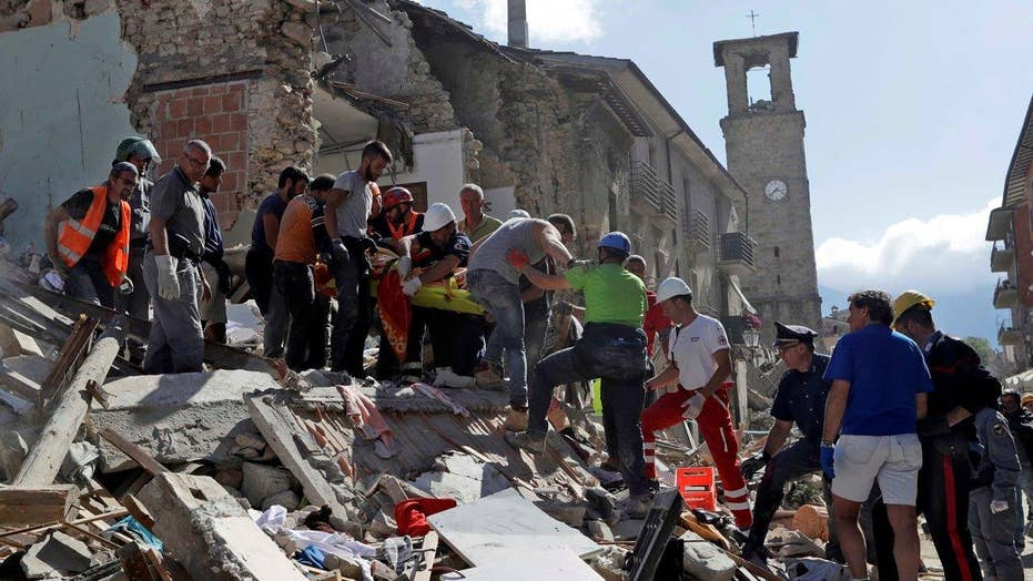 Frantic search for survivors after 6.2 earthquake in Italy