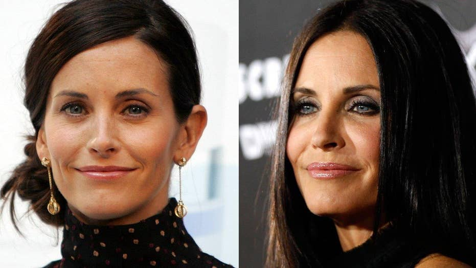 Courteney Cox regrets cosmetic surgery