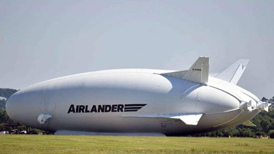 World's longest aircraft crashes on test flight
