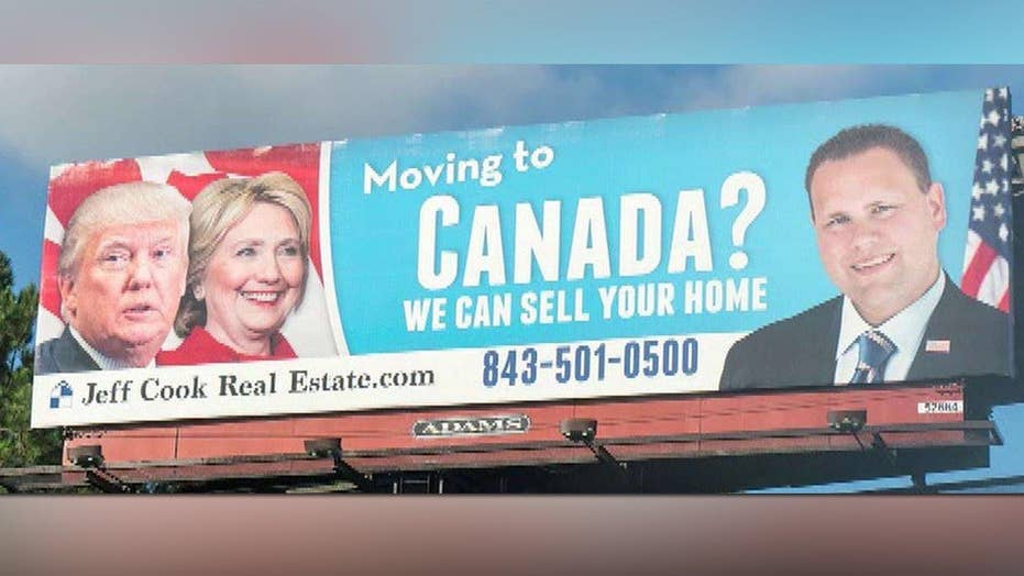 SC realtor gaining attention with 2016 political billboard
