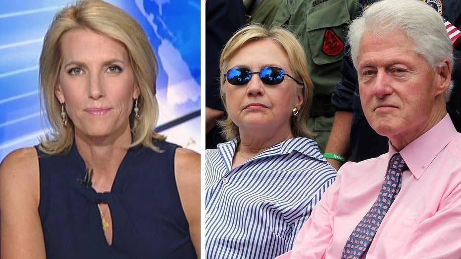 Ingraham: Clintons 'built a machine for influence peddling'