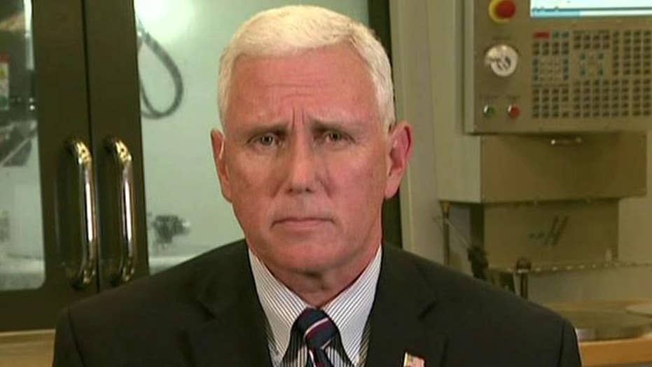 Mike Pence on Clinton controversies: No one is above the law