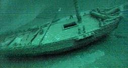 The Washington sank in Lake Ontario more than 200 years ago