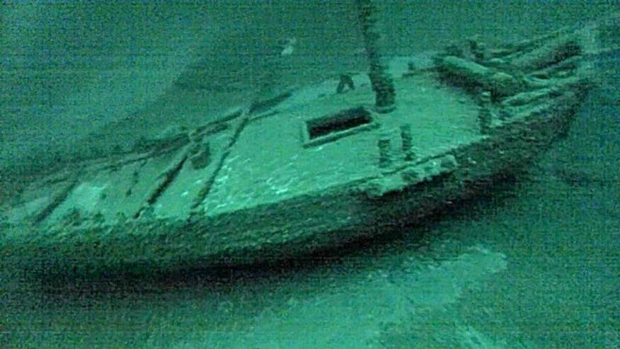 The Washington sank in Lake Ontario more than 200 years ago