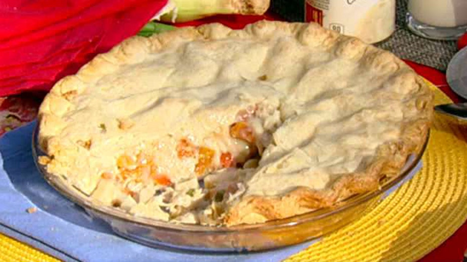 Cooking with 'Friends': Shannon Bream's chicken pot pie