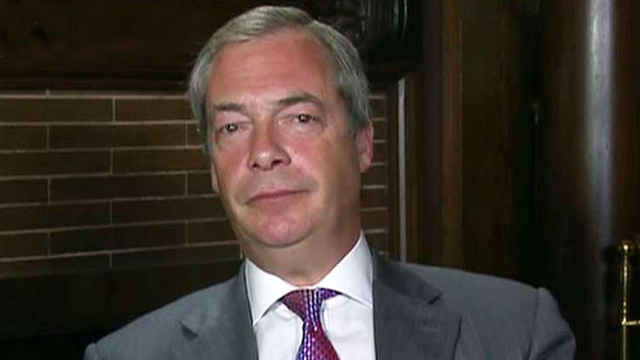 Nigel Farage: Nothing is going to change if Clinton wins