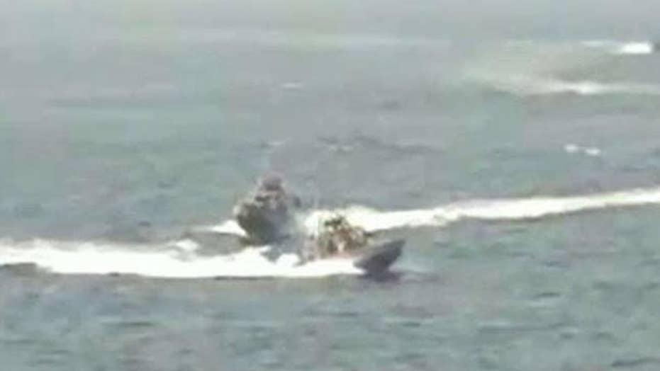 US warship fires 3 warning shots at Iranian boat