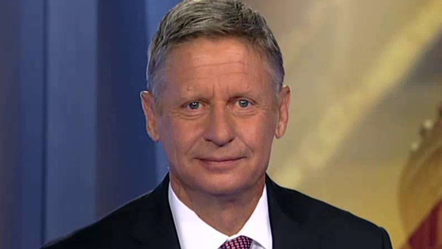 Exclusive interview with Libertarian presidential nominee