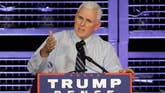 Republican vice presidential nominee takes aim at the press