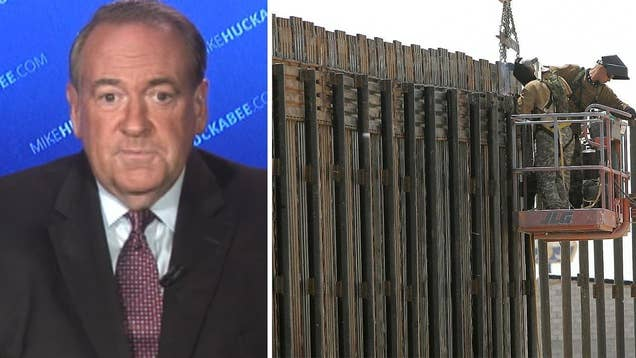 Huckabee addresses growing questions over Trump's 'wall'