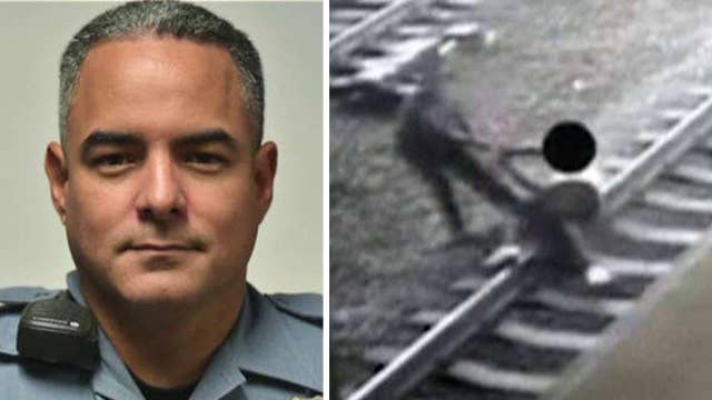 Next time someone trashes a cop, show them Officer Ortiz