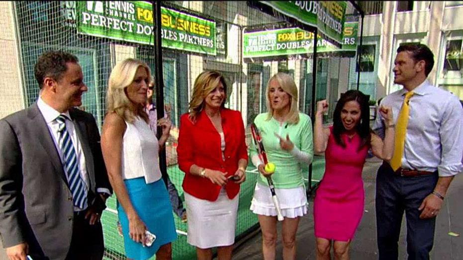 Tennis showdown: Fox News vs. Fox Business