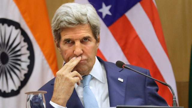 Kerry says media should cover terror less