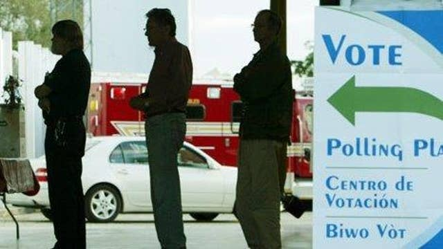 Florida voters head to the polls for state primary