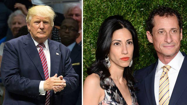 Should Trump's stance on Weiner be questioned?