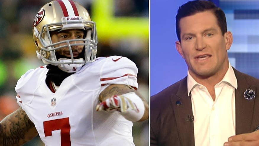 Former Giants punter Steve Weatherford goes 'On the Record' with a strong message for 49ers' QB Colin Kaepernick and his refusal to stand for the national anthem in protest of racial oppression