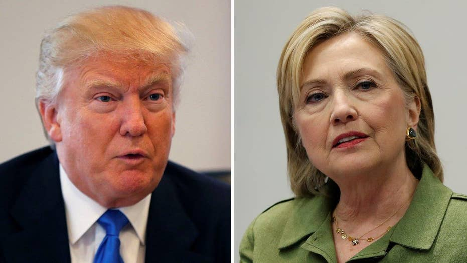 New national polls show Clinton's lead shrinking
