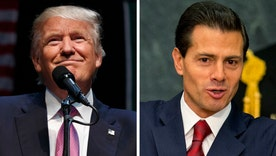 Trump meets with Pena Nieto in Mexico, ahead of immigration speech