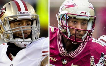 Greta's 'Off the Record': 49ers QB Colin Kaepernick is a jerk who could protest racial oppression in so many different ways. But let's salute Florida State WR Travis Rudolph, who made an autistic child's day by merely sitting with him at lunchtime