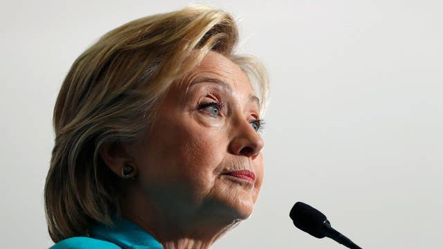 Who was the target of Clinton's Foreign Legion speech?