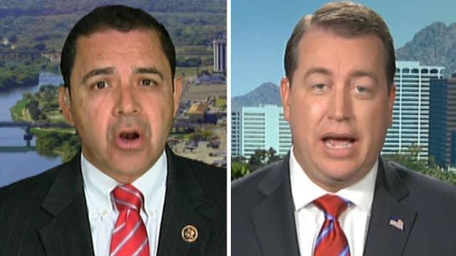 Rep. Cuellar, Jeff DeWit debate Trump's Mexico visit