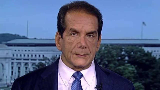 Krauthammer on Trump's trip to Mexico
