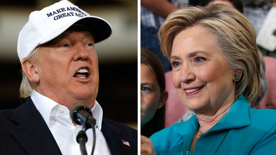 Hillary Clinton is trying to get under Donald Trump's skin