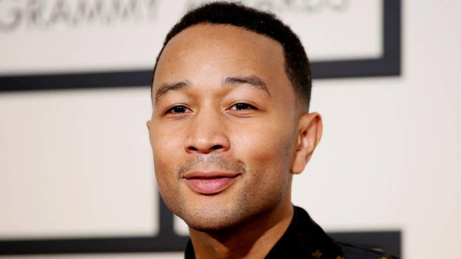John Legend says National Anthem has racist lyric