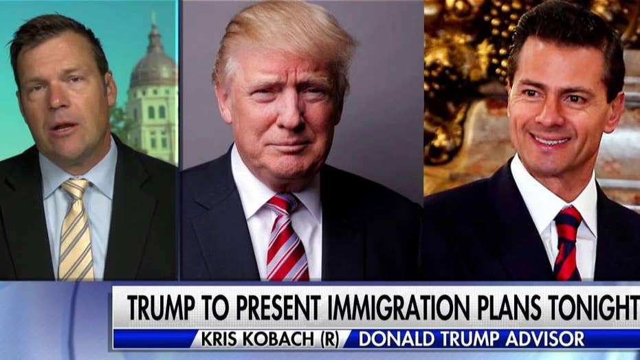 Kris Kobach on Trump's meeting in Mexico