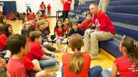 Heroes@Home: Purple Heart recipient Mark Burleson wants more awareness of USA's history in schools
