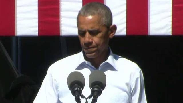 Obama talks climate change during speech in Reno, Nevada