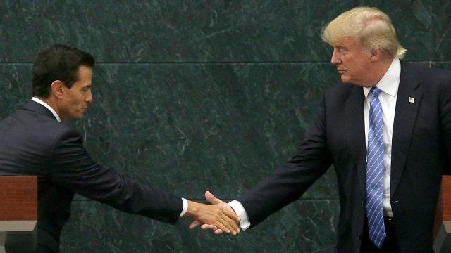 Halftime Report: Trump in Mexico