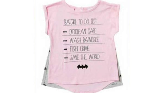Target, Old Navy in hot water for 'sexist' children's shirts
