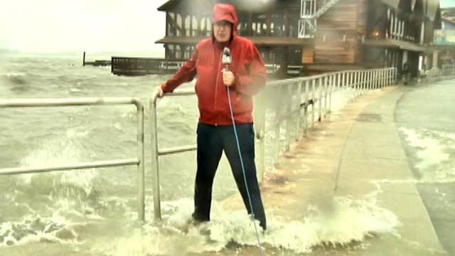 Conditions worsen as Hurricane Hermine nears landfall