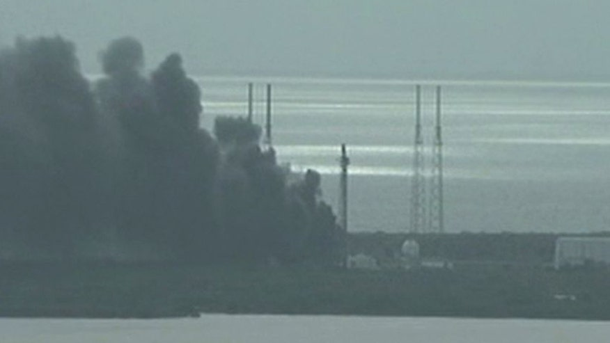 SpaceX says no injuries in explosion