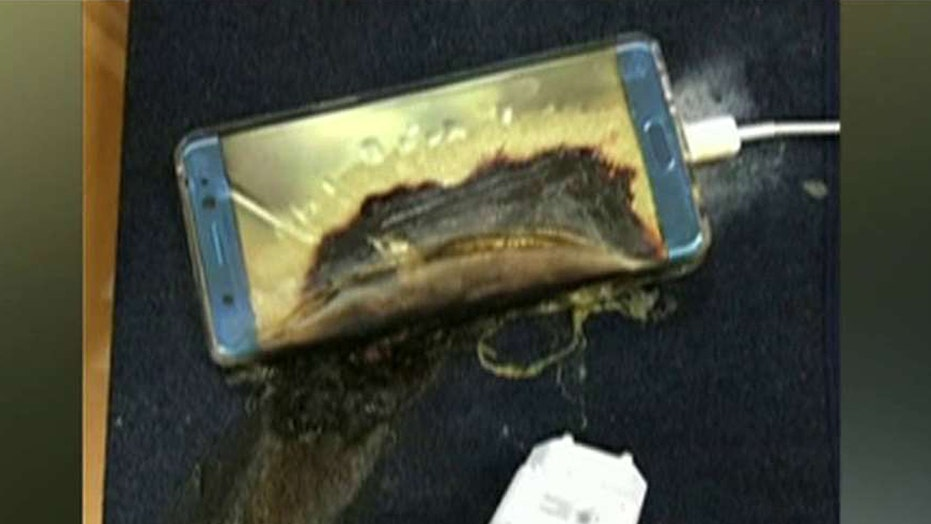 Reports of 'exploding' Galaxy Note 7s halts shipments