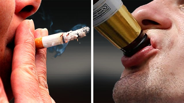 Are smoking and drinking equally damaging to your health?