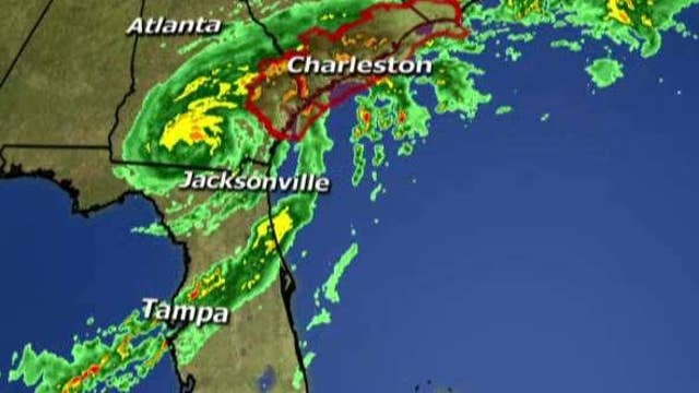 Hermine heads north as a tropical storm