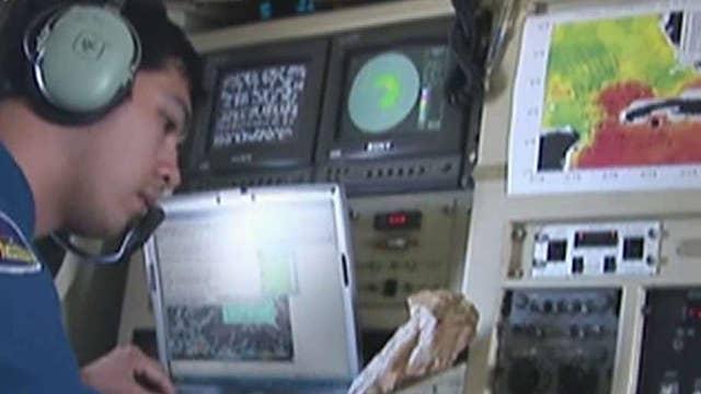 Hurricane hunter describes flying through center of Hermine