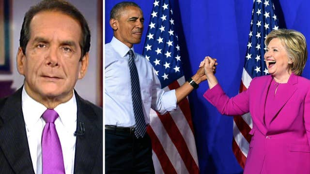 Krauthammer: How connections to Obama could hurt Clinton