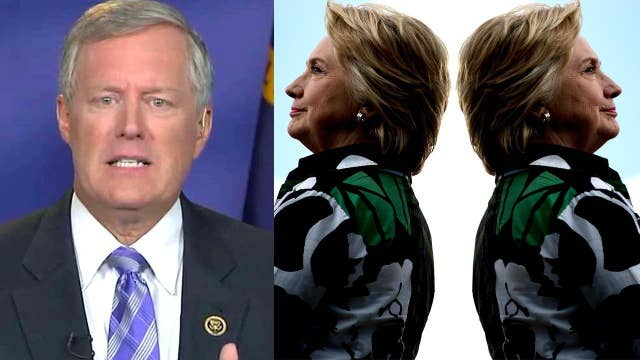 Rep. Meadows: FBI notes reveal 2 different Hillary Clintons
