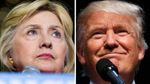 Trump chipping away at Clinton's lead in key swing states?