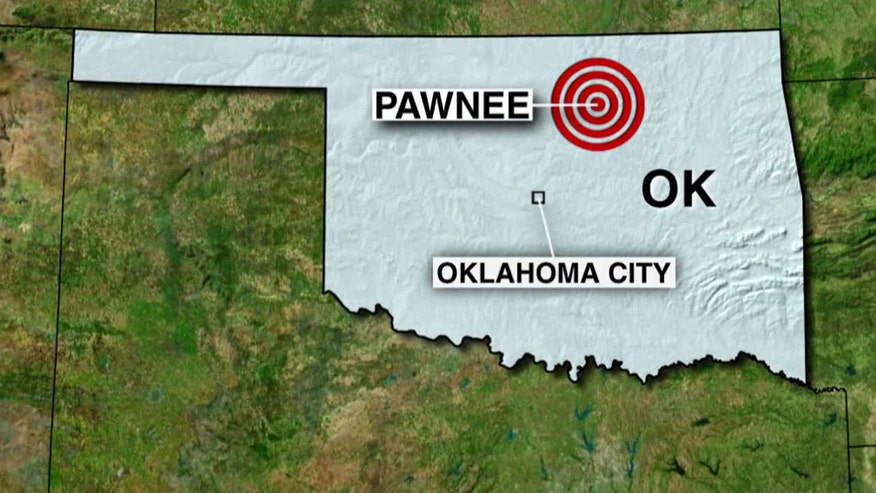 Earthquake hits near Pawnee