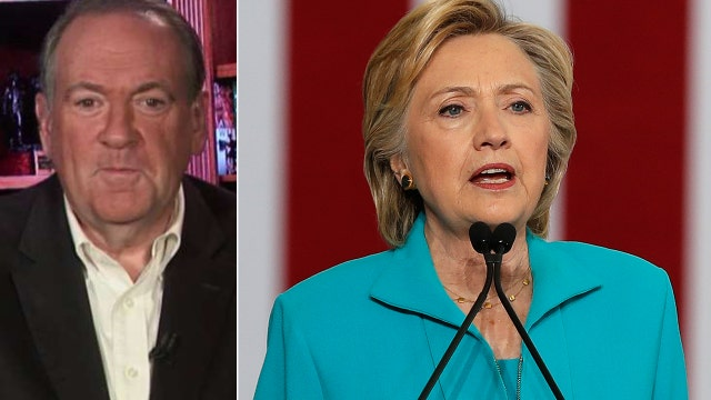 Huckabee: Clinton is afraid to face what she has done
