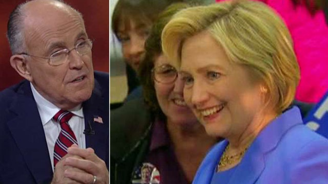 Rudy Giuliani: Clinton is 'dying by a thousand cuts'