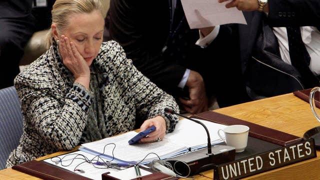 Covering FBI's Clinton files