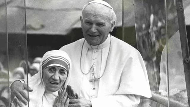 Reporter describes interviewing Mother Teresa